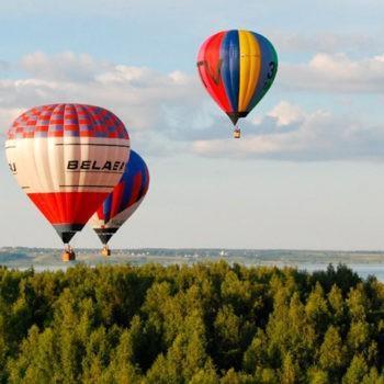 4-й фестиваль воздухоплавания «Золотая осень на Золотом кольце»