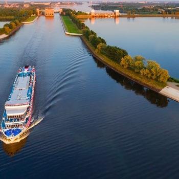 Волга и Рыбинское море: теплоходная прогулка