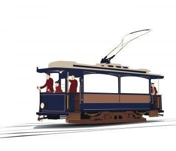 Путешествие на туристическом трамвае