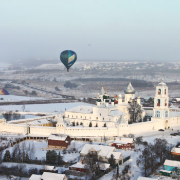 Фестиваль воздухоплавания «Яблоки на снегу»