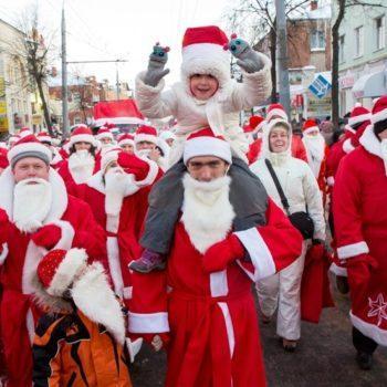 Нашествие Дедов Морозов!