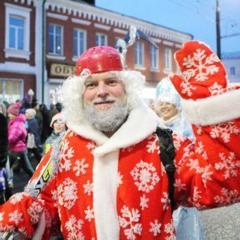 «НаШествию Дедов Морозов» в Рыбинске быть!