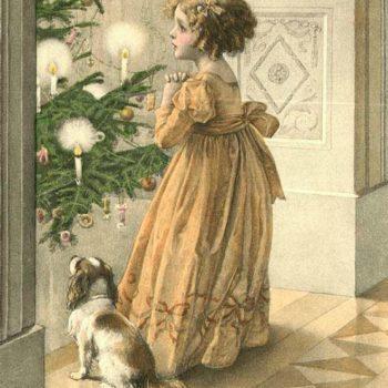Рождественские огни в купеческом доме