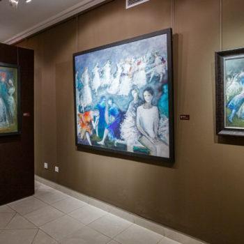 Выставка работ Франческо Караччо.