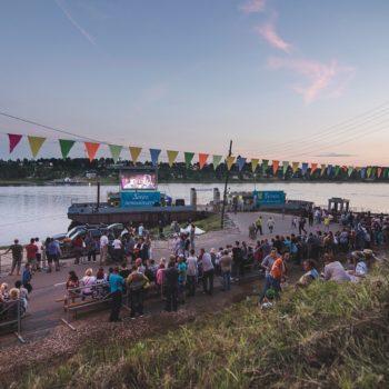 Фестиваль уличного кино «Кино на воде»