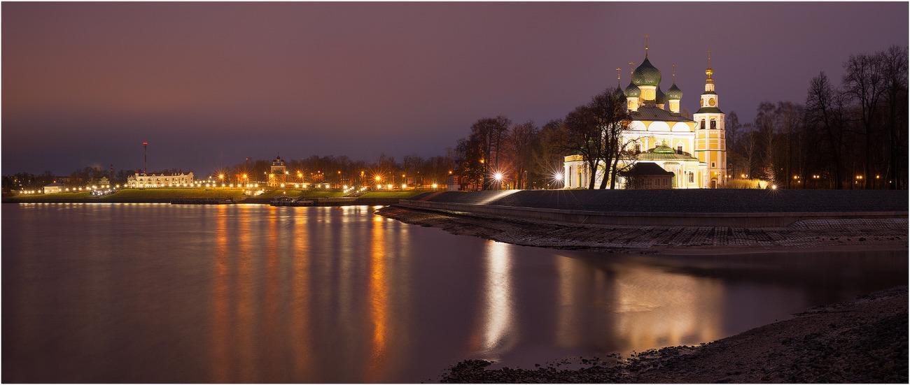 Ночная (вечерняя) экскурсия по Угличу