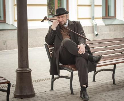 «Байки на крыше» Авторская экскурсия от актёра театра Владимира Калюкина