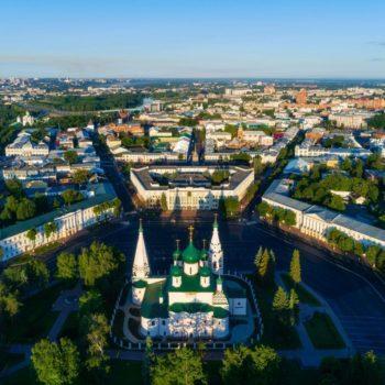 Экскурсия по Ярославлю