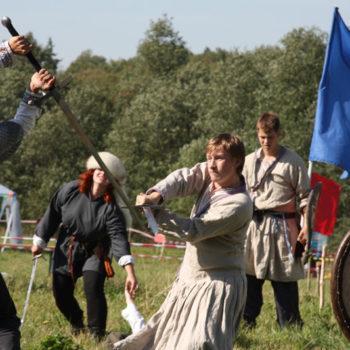 """Исторический фестиваль """"По вехам истории"""""""